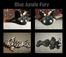 Blue Jungle Fury For Sale! by Darksoul-wolf