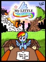 My Little Dashie: Cover by NeonCabaret