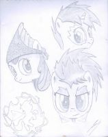 Cutie Mark Crusaders! by SadnessGuy