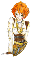 WT : Ramiera in Steampunk outfit by 2947