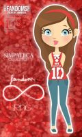 Doll Fandom Directioner Girl by Simpatiica
