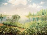 landscape with raspberry by hitforsa