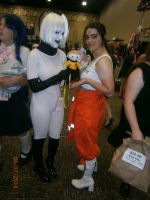 Chell and GLaDOS 3 by enterprisedavid