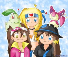 Pokemon Oc's by SkyGiratina00