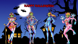 Happy Halloween 2014 Wallpaper by Yoshi9288