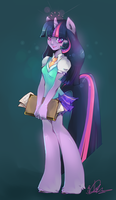 Twilight Sparkle by liea