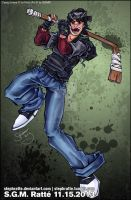 TMNT - :2013 Casey Jones: by StephRatte