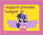 Princess Twilight stamp by paulinaghost