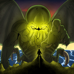 Cthulu and the Chosen One [Final] by MandrakeRasta420