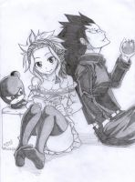 Cover 319 (Gajeel, Levy and Lily) by EED-Wolf