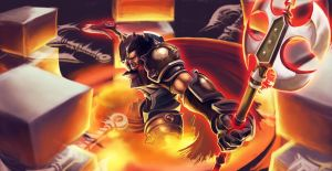 Darius The Hand Of Noxus S3 LOL Contest by KhristianDeMedich