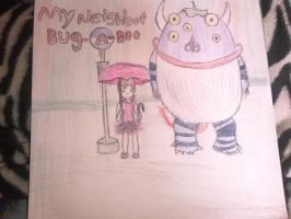 My neighbor bug - a-boo by art-is-my-bream