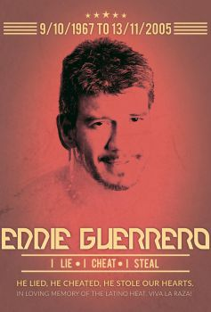 Tribute to Eddie Guerrero ( 1967-2005 ) by KingQuake