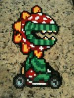 Mario Kart Petey Piranha by powerranger02