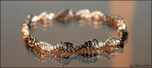 chainmaille bracelet by Gex78