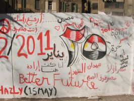 Egyptian Revolution 27 by Magdyas