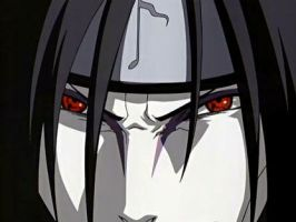 Orochimaru with Sharingan by dotdex