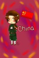 Chibi China by MoonofTheGothicJinks