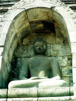 Borobudur XXVI - Shelter for gecko by in2ni
