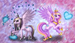 Princess Cadance - The Alternate Facet by Rose-Beuty