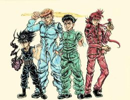 YYH: SMILE BOMB by CHAOS-CHAOS-CHAOS