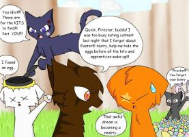 Firestar Also Doesn't Like Easter!!! by LightstormXRavenwing