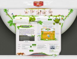 Weblog by Harm-Less by designerscouch