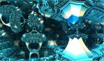chaotic blue constructions by Andrea1981G