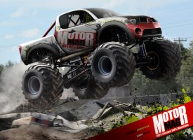 Mitsubishi L200 Monster Truck by yasiddesign