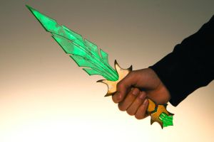Elder Scrolls Inspired - Glass Dagger by PaulBoyd