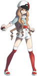 Ciana Fakemon Female Protagonist by ItchTehGlitch