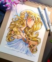 Fairy girl commission by KelleeArt