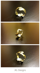 Abstract Silver Ring by JKL-Designs
