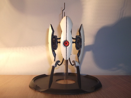 Portal 2 turret front by chamoo232