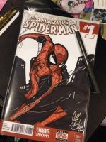 Wizard World Chicago Spider-Man Cover by PonyGoddess