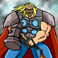 The Might of Thor by Lwiis64