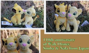 Simba and Nala from Japan by Laurel-Lion