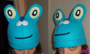 Froakie Hat by chkimbrough