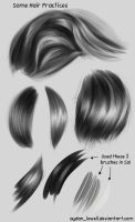 Sai Hair Practices by aydan-lowell