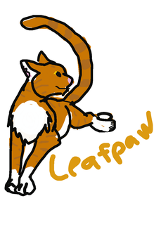Leafpaw by Rusted-Wolf