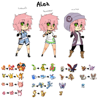 Pokemontrainer Alea by Donnis
