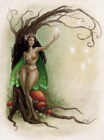 Tree of Eggs by aeryael