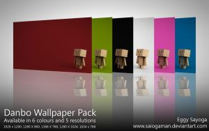 Danbo Wallpaper Pack by SaiogaMan
