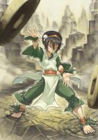 Toph by redeyehare