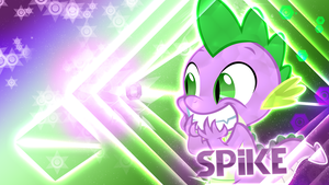 Spike the Dragon Wallpaper by Cr4zyPPL