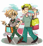 come on loser we're going shopping by Rabu-rii