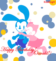 Happy Birthday Oswald by KisaKnight