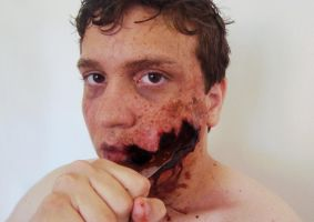 Evil Dead inspired makeup. by fontenelefx