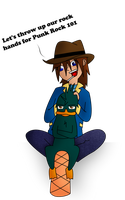 Perry the Punkypus by Helihi