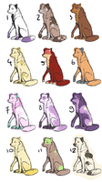 Dog Adoptables -1 more left- by Agowilt
